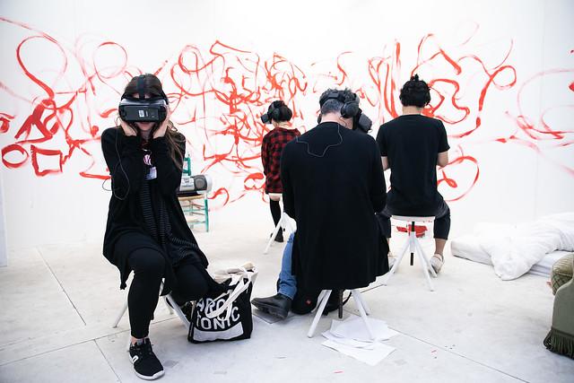 Mutter und Sohn = Realität trifft Kunst (Z.U.K.U.N.F.T. der Unendlichkeit) / Brigitte & Jonathan Meese (DE)