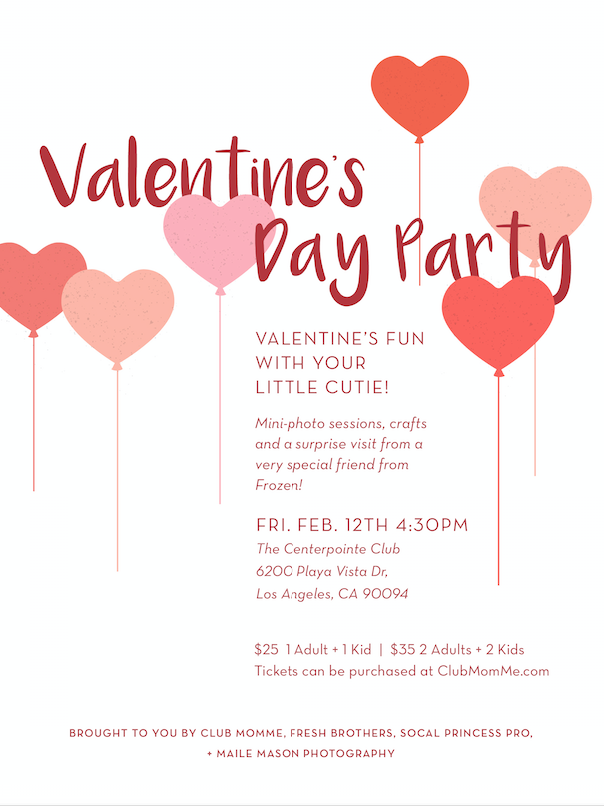 Valentine's Day Party 2016