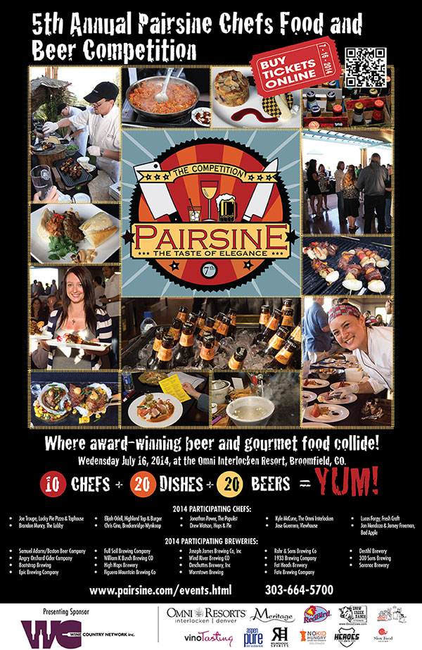 Pairsine Beer Graphic