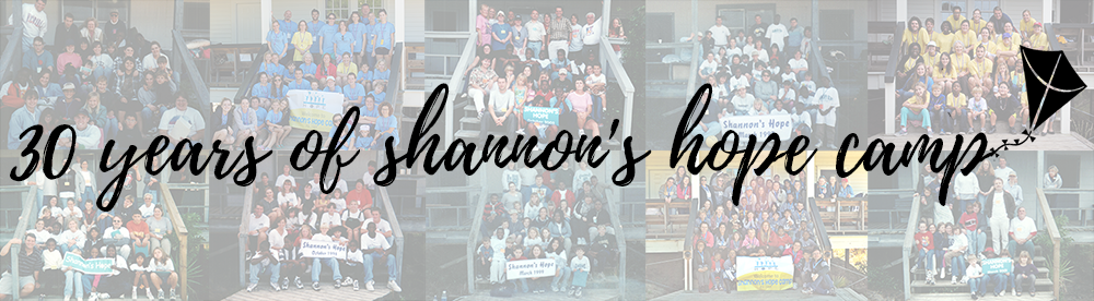 Group pictures from several Shannon's Hope Camps over the last thirty years.