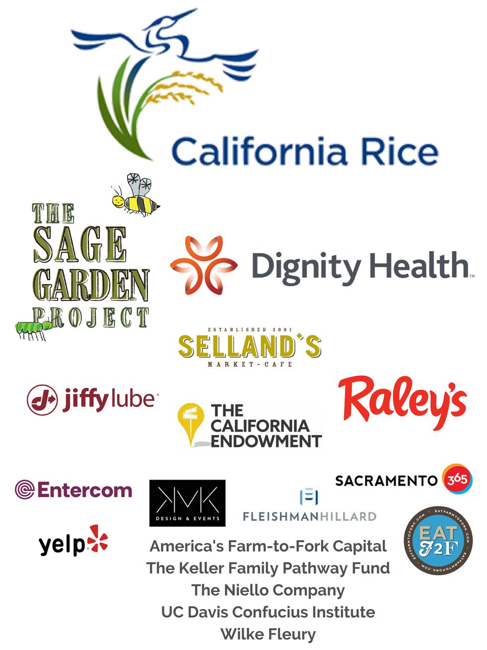 Sacramento Food Film Festival Sponsors