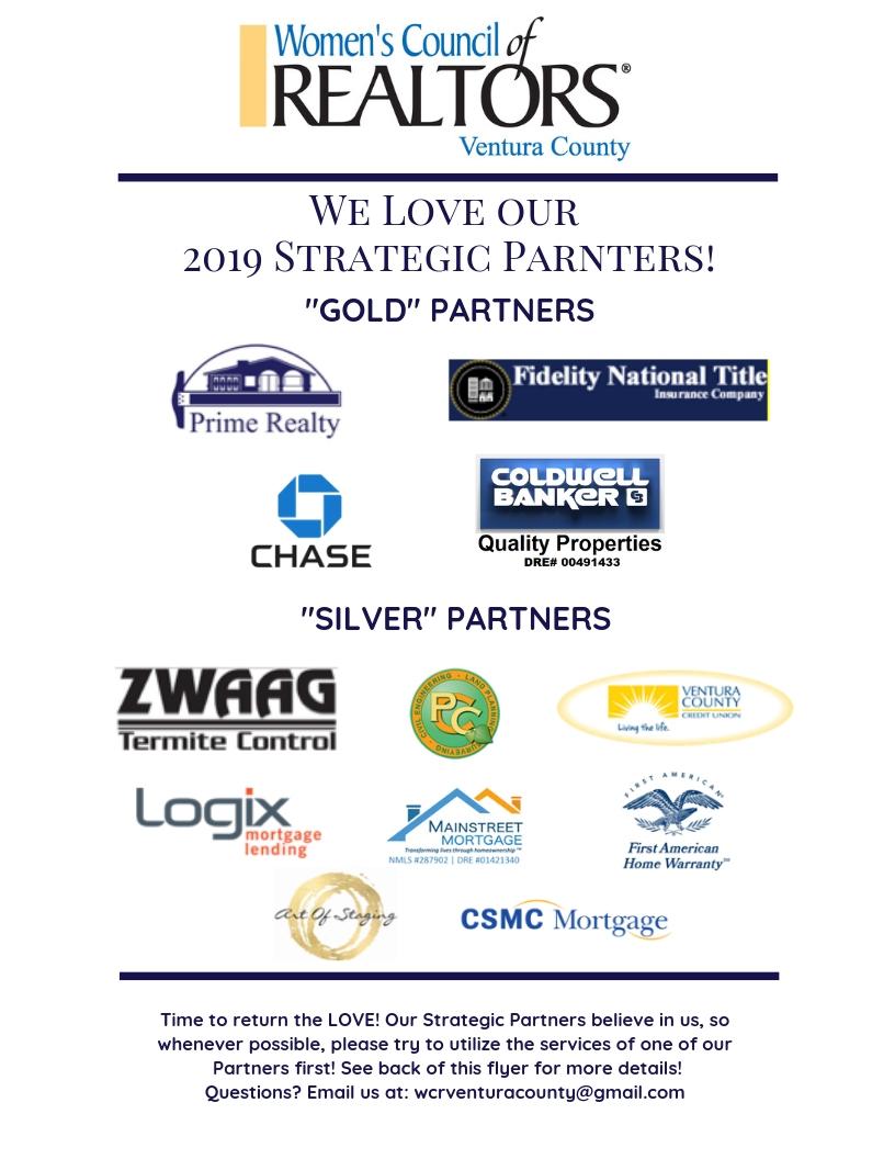 2019 Strategic Partners