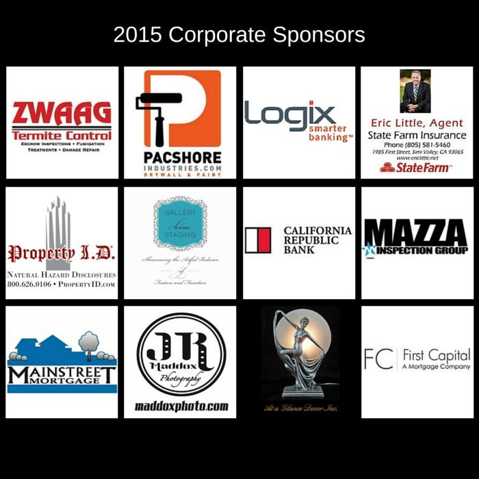 12 corporate sponsors