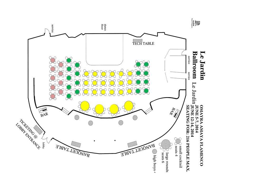 Final seating