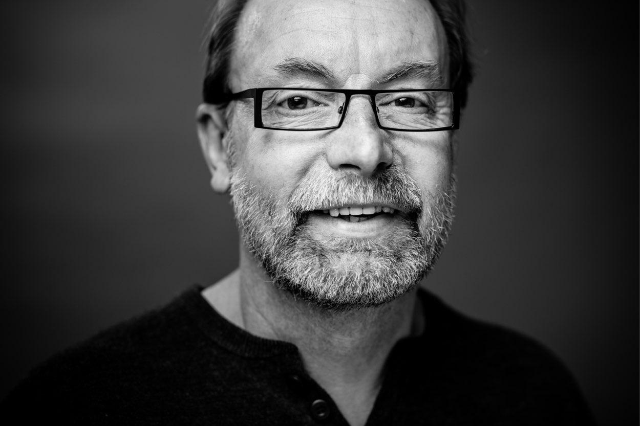 Pete Mosley portrait