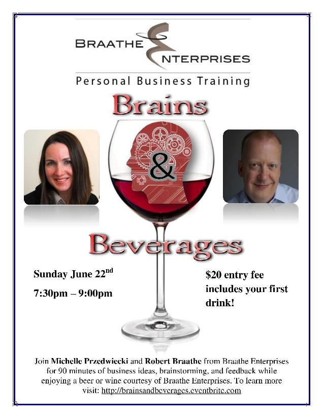 Brains and Beverages