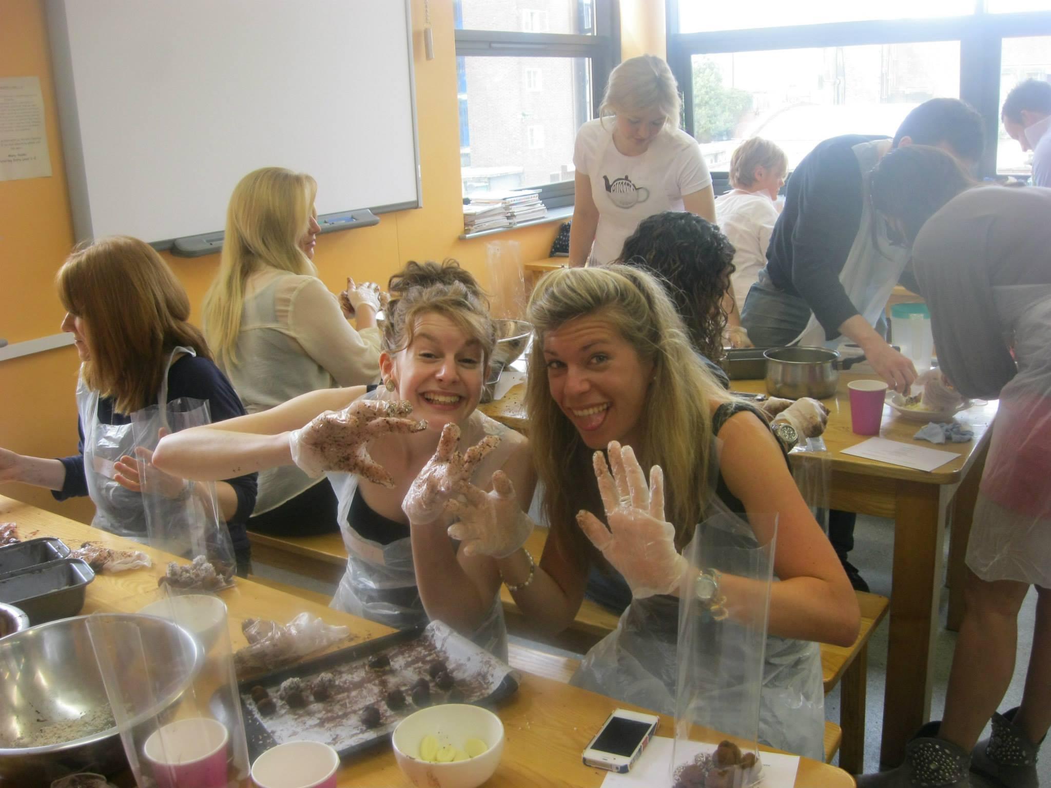 chocolate truffle making class