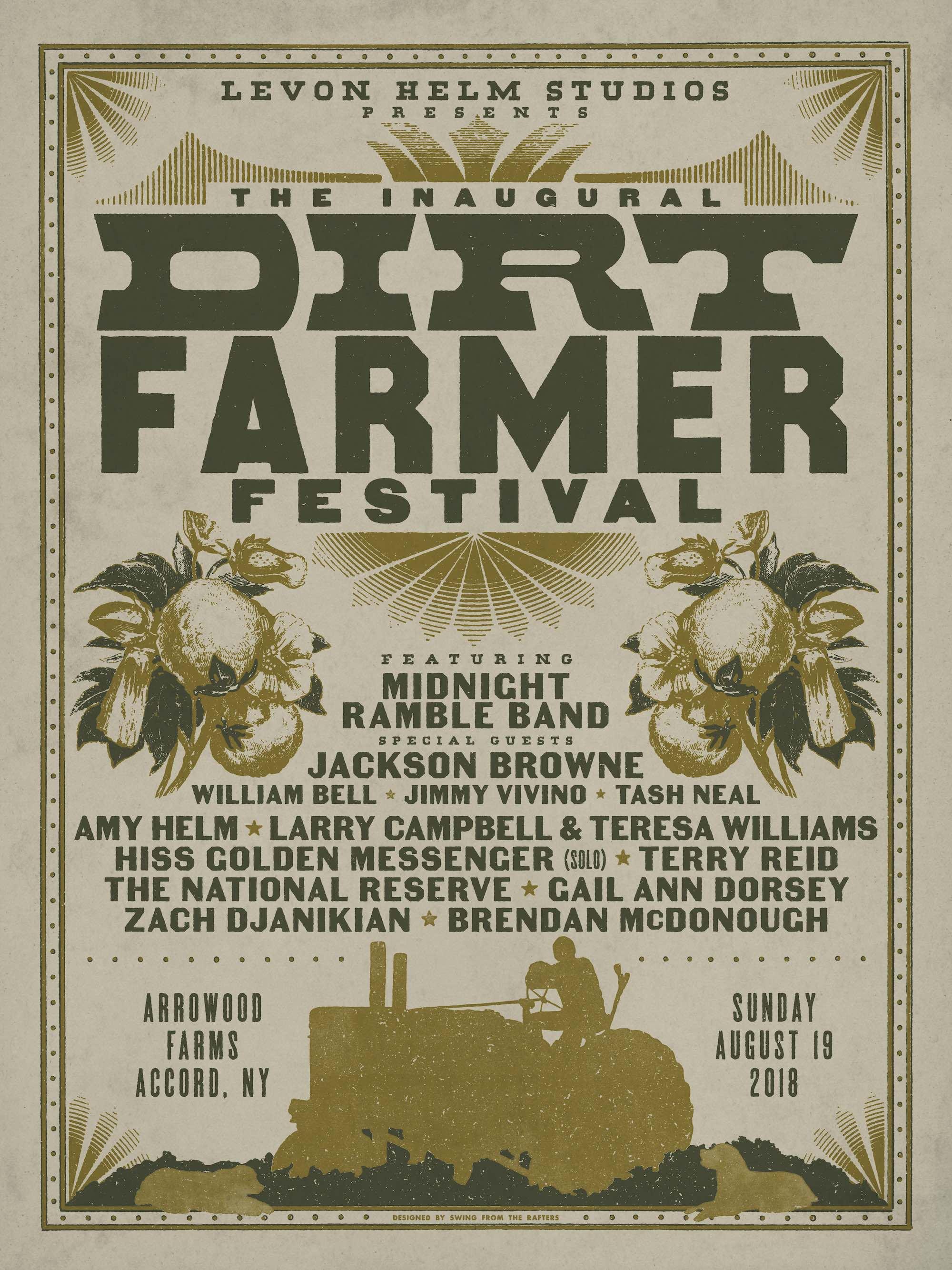 Dirt Farmer Festival Poster