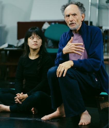 Prof Wangh in a workshop in Taiwan