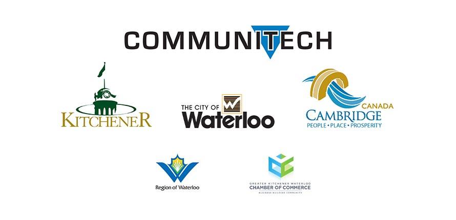 Event Sponsors: Communitech, City of Kitchener, City of Waterloo, City of Cambridge, Region of Waterloo, Greater KW Chamber of Commerce