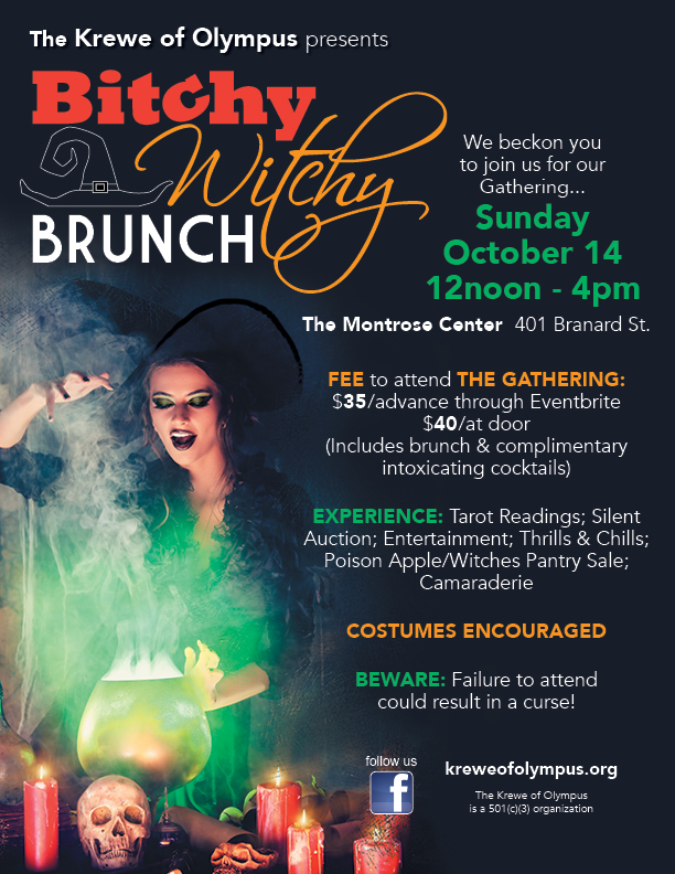 Bitchy Witchy Brunch 2018