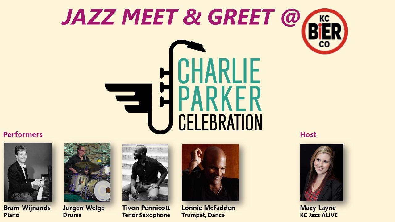 Charlie Parker Celebration Meet & Greet