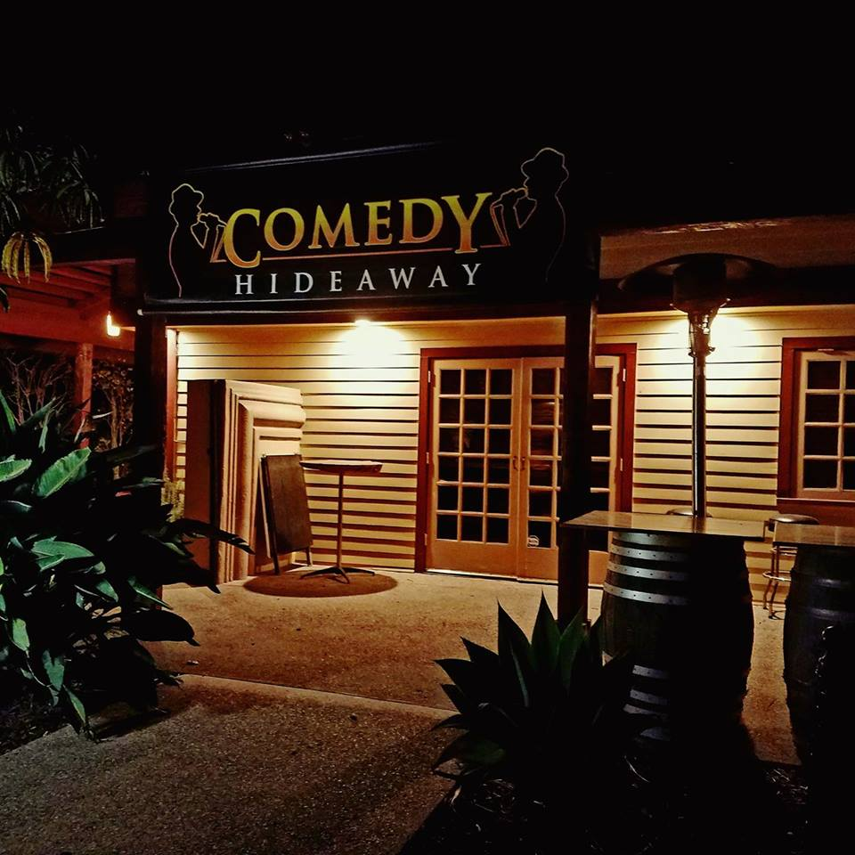 Comedy Hideaway Front Entrance