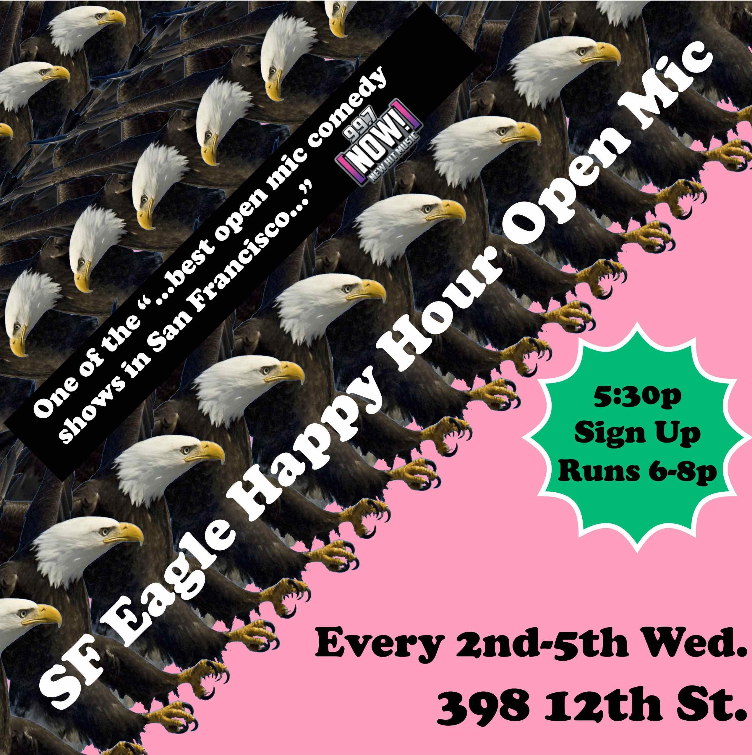 SF Eagle Open Mic Poster