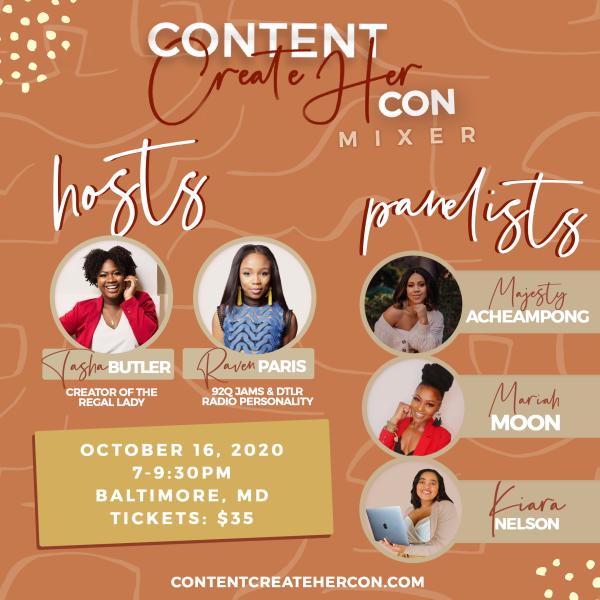 Content CreateHer Con Mixer