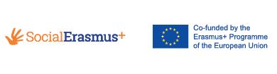 SocialErasmus+ and Erasmus+ Cofunded logo