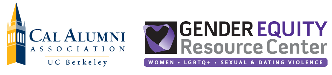 Cal Alumni Association and Gender Equity Resource Center Logos