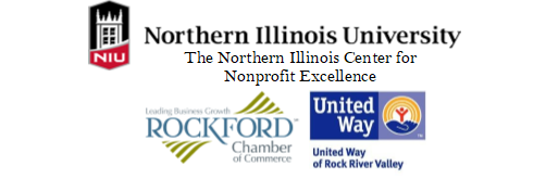 Logos NICNE, United Way Rock River Valley, Rockford Area Chamber of Commerce