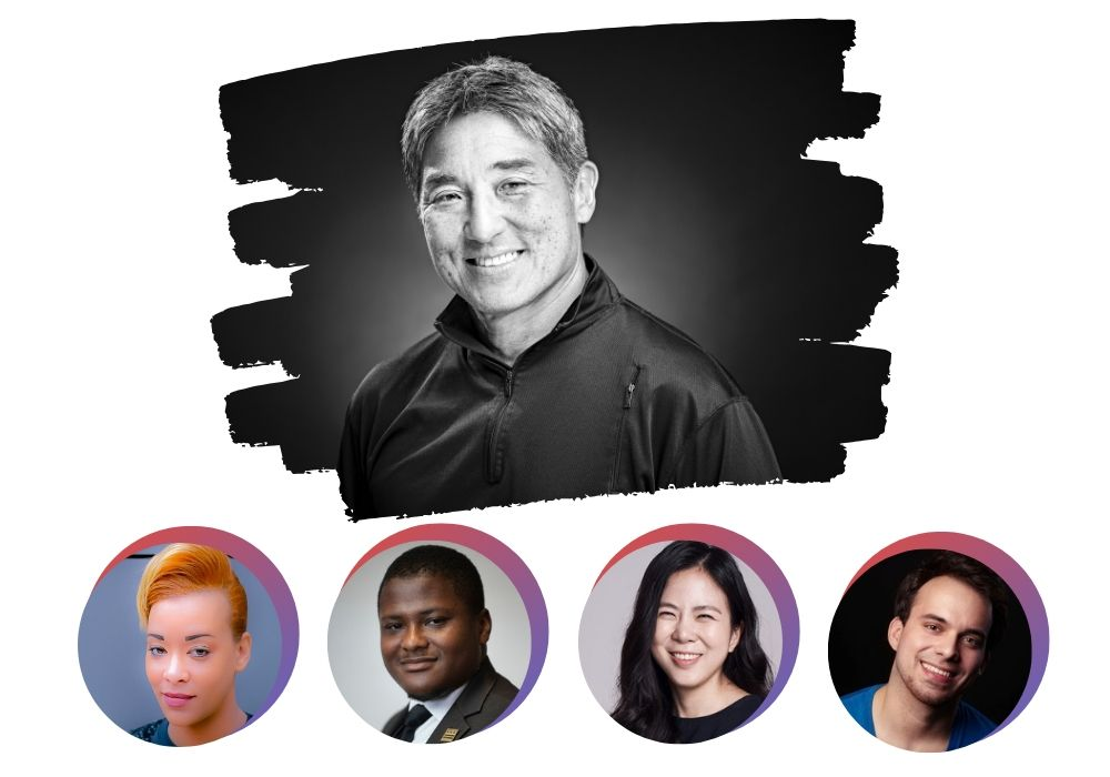 guy kawasaki, patricia edwards, connell wise, monica kane,  diego mariscal