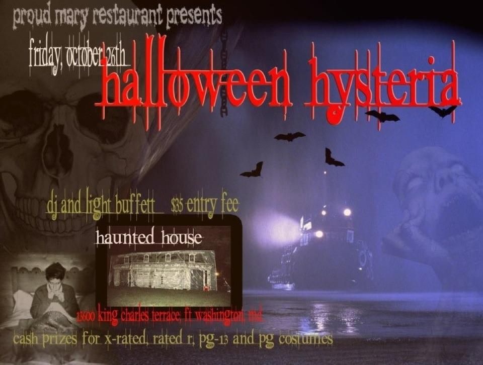 Halloween hysteria it 39 s a haunted house tickets fri for 13600 king charles terrace ft washington md