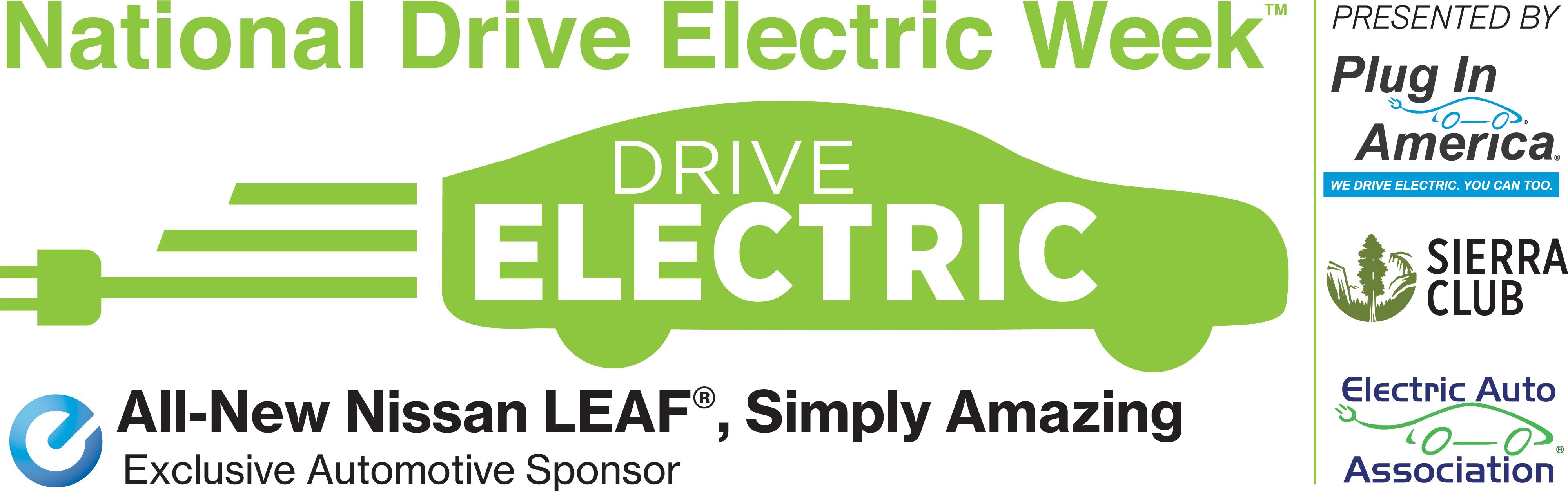 National Drive Electric Week logo