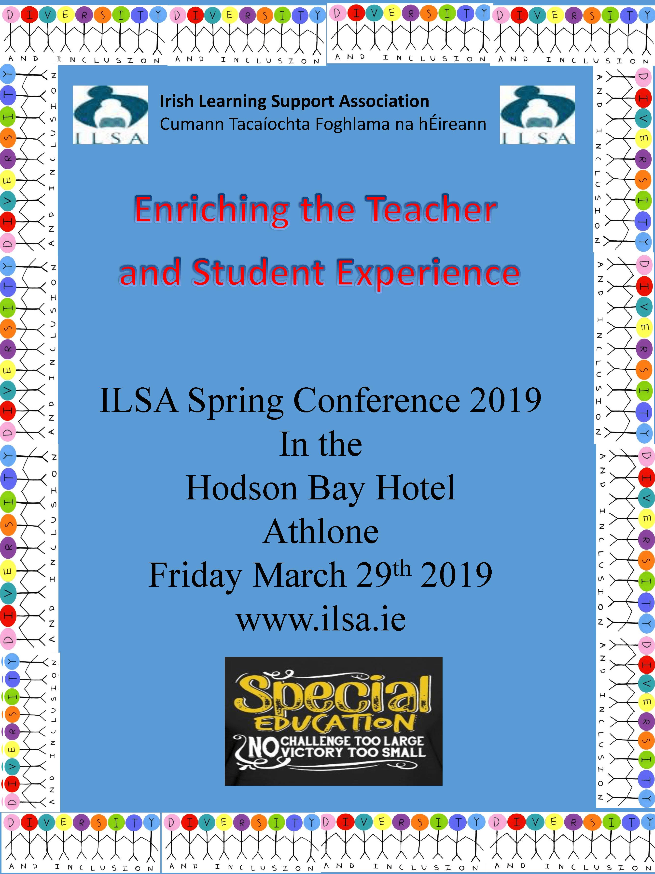 2019 Irish Learning Support Association Poster