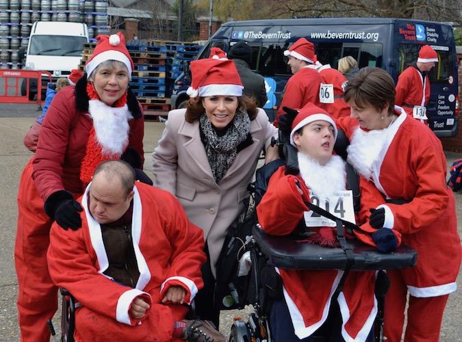 Lewes Santa Run 2019