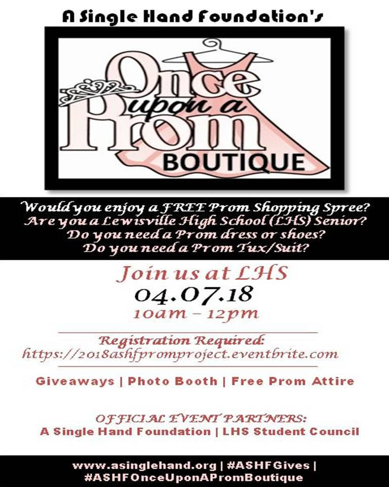 2018 Once Upon a Prom Boutique