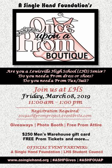 2019 LHS Once Upon a Prom Boutique