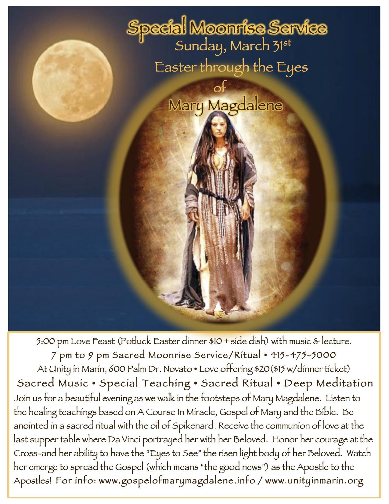 Easter Moonrise Service