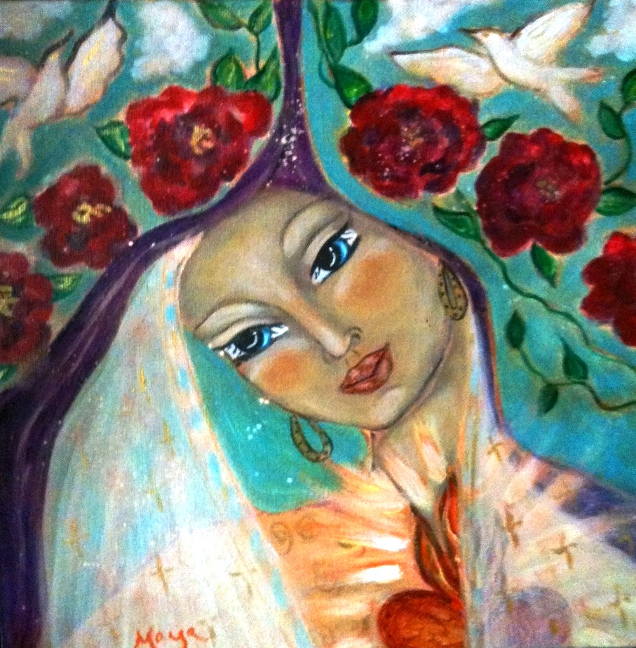 Our lady by Maya
