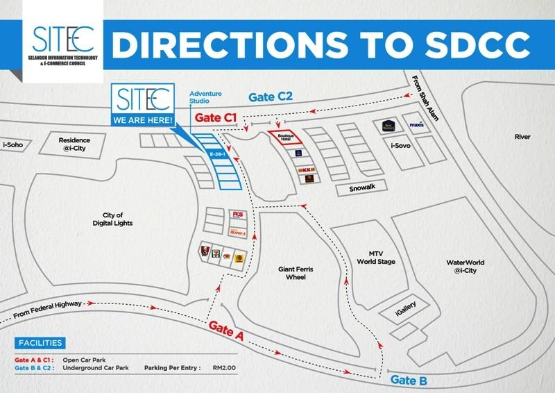 Direction to SDCC