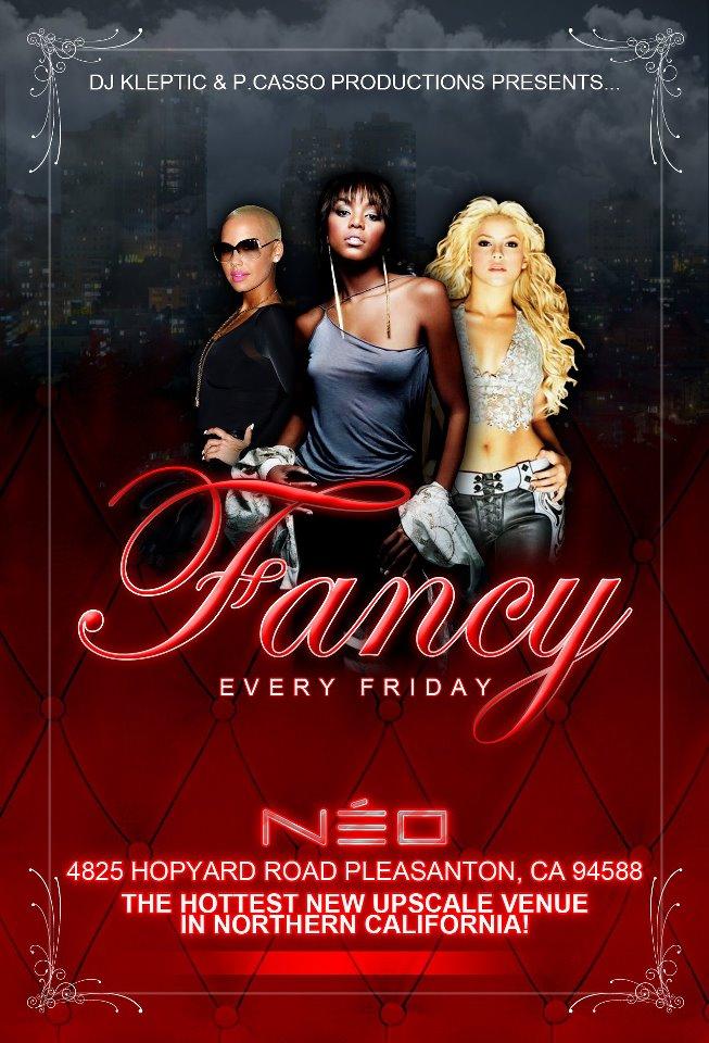 Fancy @ NEO Front Flyer