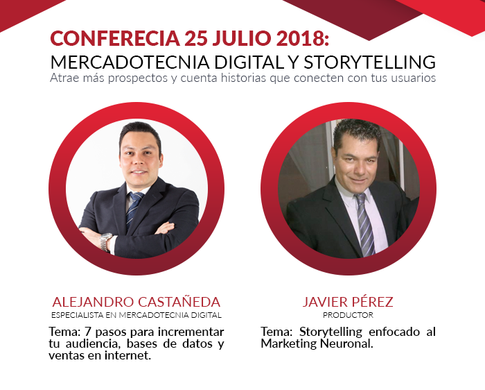 Conferencia Mercadotecnia Digital y Storytelling
