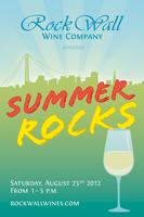 Rock Wall Wine Company presents: Summer Rocks! Open House
