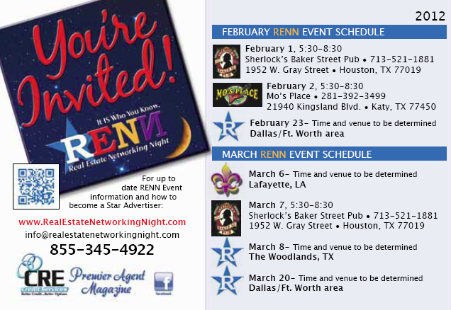 You are invited to a RENN event!