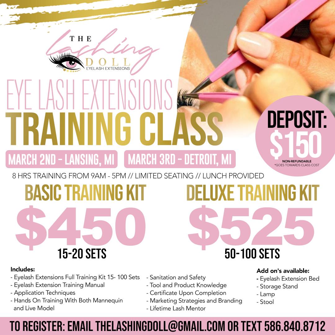 Eyelash Extension Training Class Tickets Sat Mar 2 2019 At 900