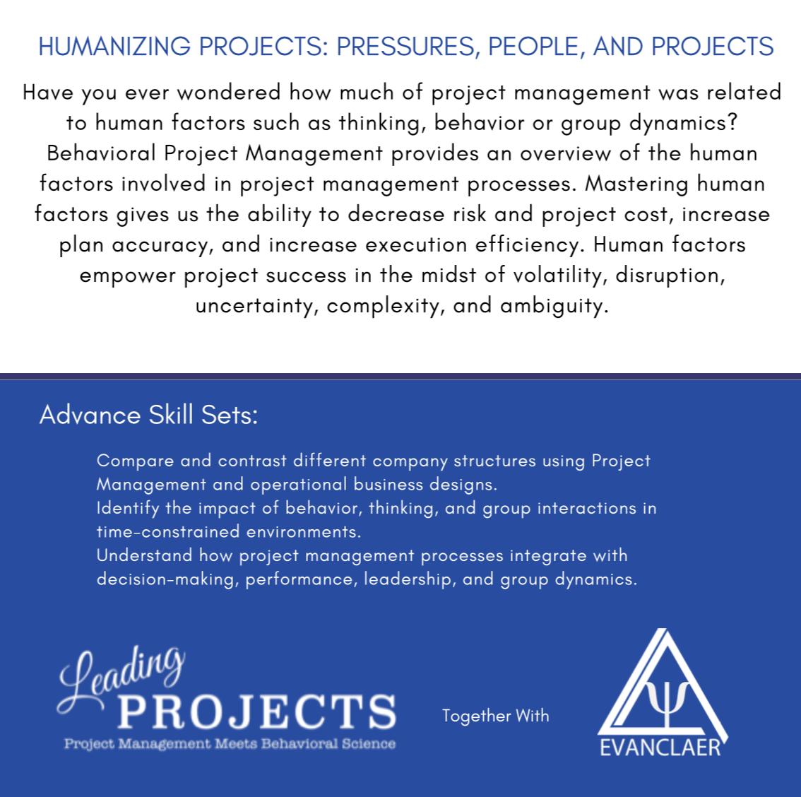 Humanizing Projects Description