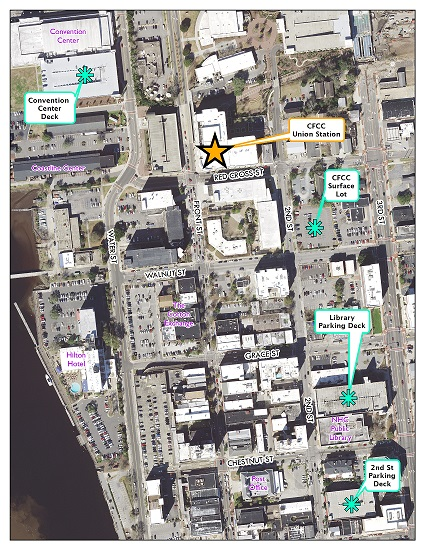 Stewardship Awards Parking Map