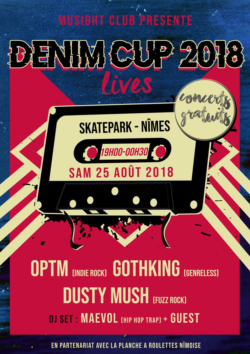 #DENIM CUP #Concerts gratuits #MUSIGHTCLUB