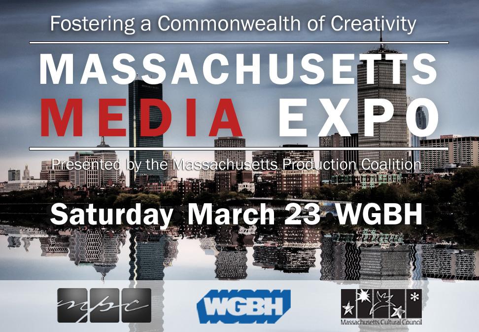 Massachusetts Media Expo - card