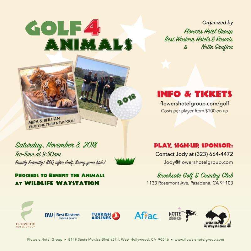 Golf for Animals 2018