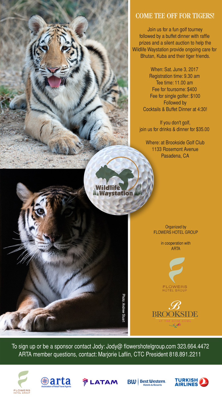 Wildlife Waystation Golfing for Animals