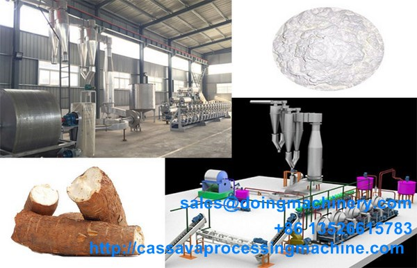 Small scale cassava starch processing plant Tickets, Sun