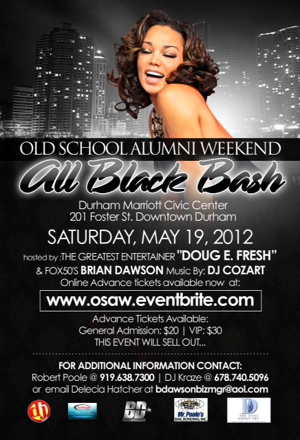 OSAW All Black Bash