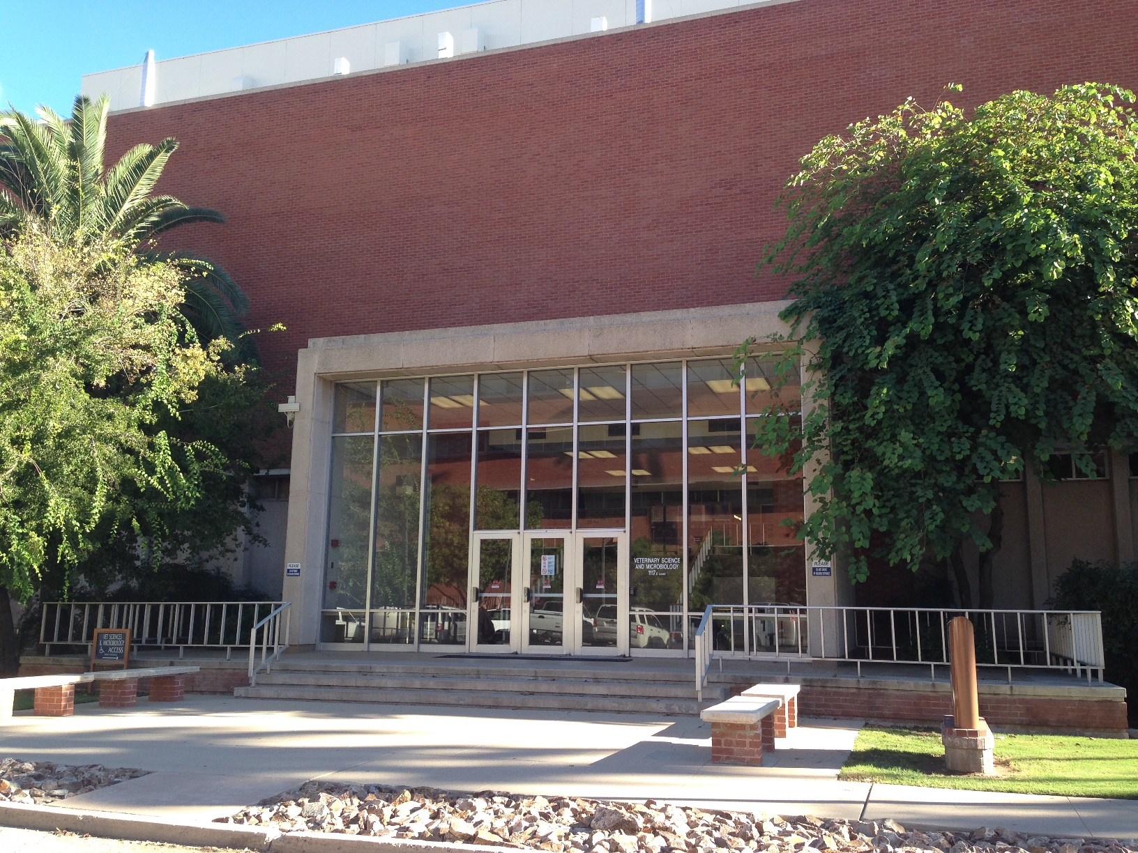Vet Science & Microbiology Building at U of A