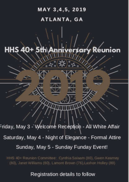HHS 40+ 5th Anniversary Reunion