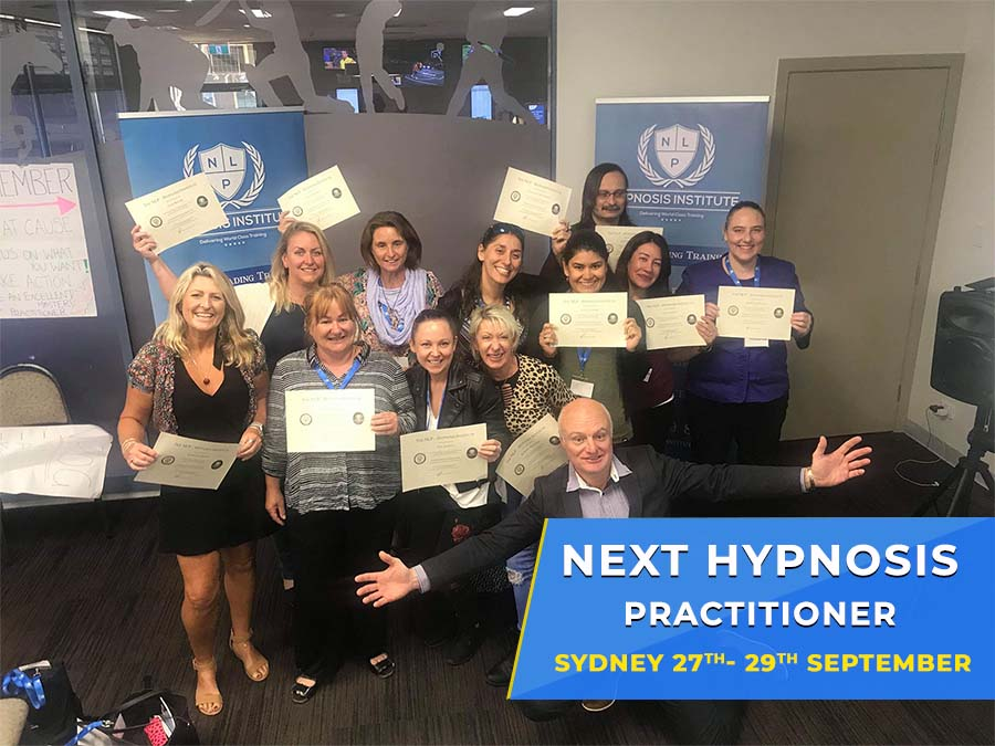 SYDNEY HYPNOSIS PRACTITIONER CERTIFICATION TRAINING