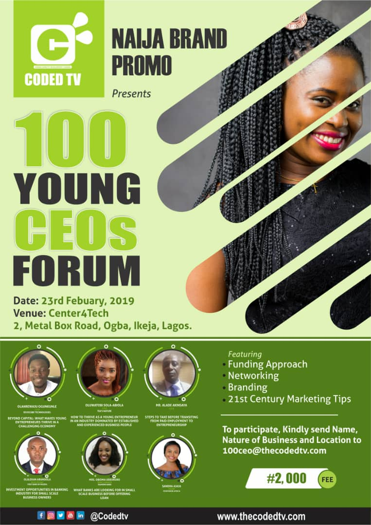 100 Young CEO Banner