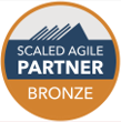 Small Scaled Agile Bronze Logo